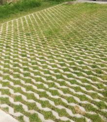 grastegels plaatsen